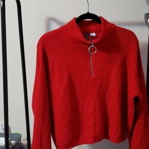 Vintage style Red sweater